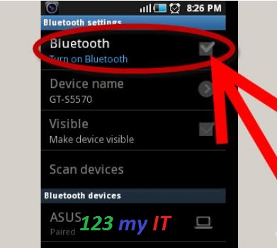 Android Bluetooth Settings