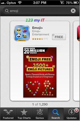 Emoji App Store