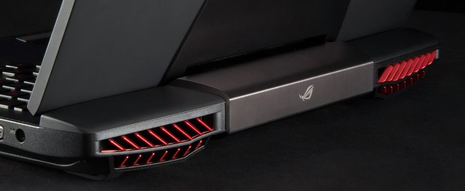 Asus Red Air Vents