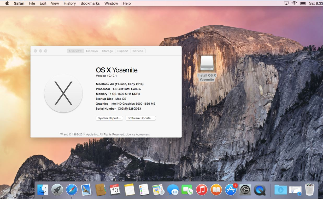 Clean Install of OS X Yosemite
