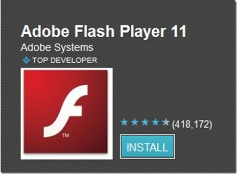Latest flash player