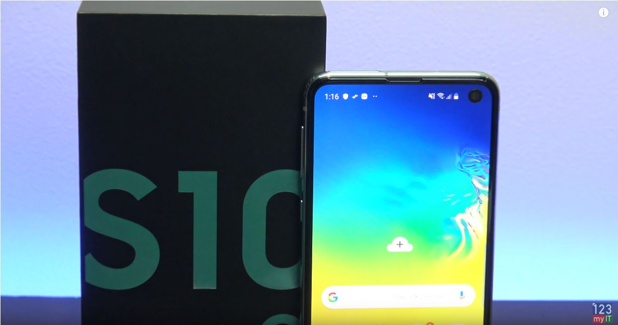 Samsung Galaxy s10e notch