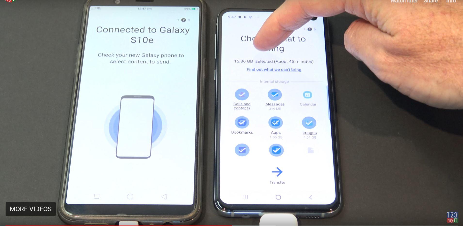 Transfer data Oppo to Samsung