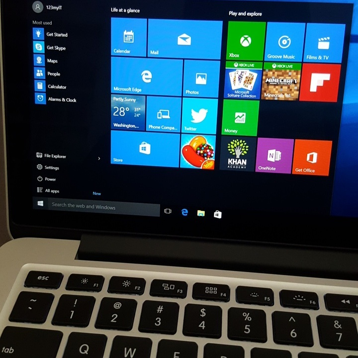 Windows 10 on MacBook Pro 2015