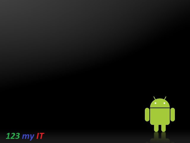 Android Black Background Wallpaper