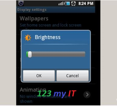 Android Screen Brightness