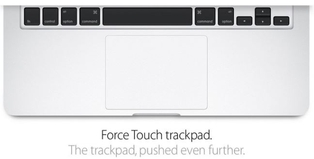 MacBook Pro 13 inch - Force Touch