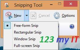 Free Form Snip