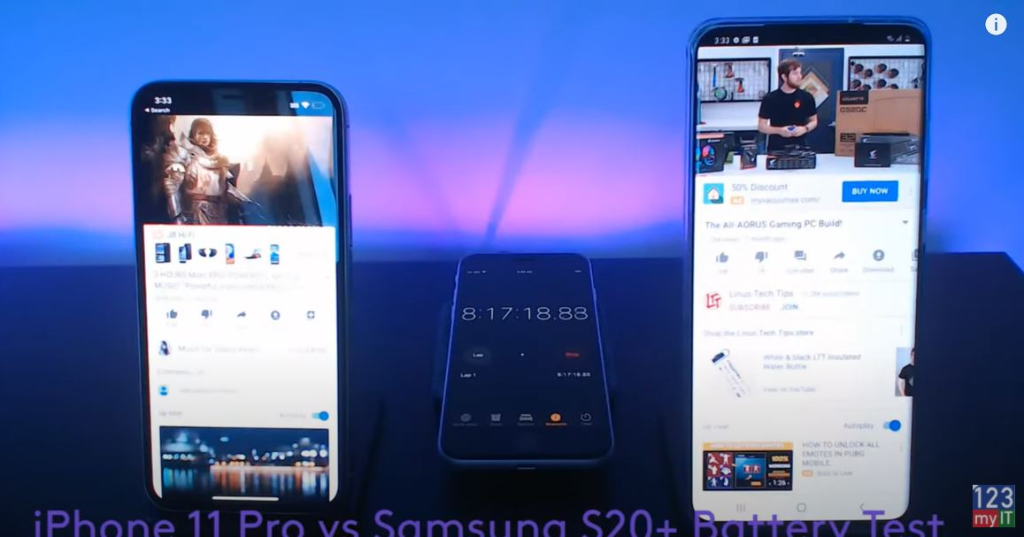 iphone 11 pro vs samsung
