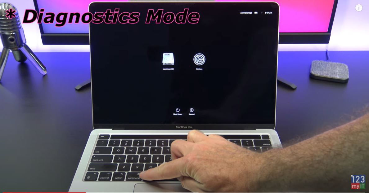 start-up modes M1 Macs