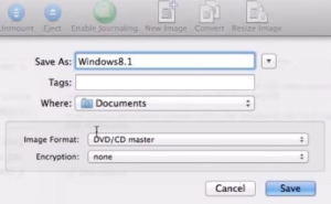 create an ISO file on a MAC